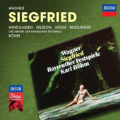 Wagner: Siegfried / Windgassen, Nilsson, Adam, Neidlinger. Bohm