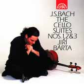 Bach: The Cello Suites no 1, 2 & 3 / Jiri Barta