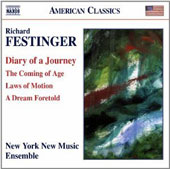 'Diary of a Journey' - Chamber works by Richard Festinger (b.1948) / New York New Music Ensemble