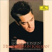 Beethoven: The 9 Symphonies / Karajan, Berlin PO [Deluxe Edition, 5 CDs & Blu-Ray Audio, 24-bit/96kHz]