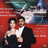 Verdi: La Traviata / Mehta, Cura, Gvazava, Pamerai, et al