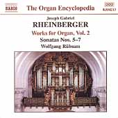 Organ Encyclopedia - Rheinberger: Organ Works Vol 2 / Rübsam