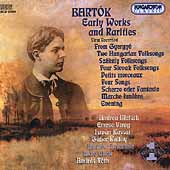 Bartok: Early Works and Rarities / Melath, Kassai, et al