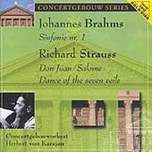 Concertgebouw Series - Brahms: Symphony no 1;  Strauss