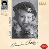 Callas' Teacher / Maria Callas, Elvira de Hidalgo, et al