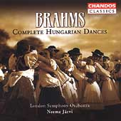 Brahms: Complete Hungarian Dances / Neeme Järvi, London SO