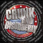 Various Artists: Crunk and Disorderly [Clean] [Edited]
