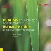 Brahms: Symphony no 2, Double Concerto / Haitink, London SO