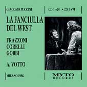 Puccini: La Fanciulla del West / Votto, Corelli, Gobbi
