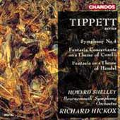 Tippett: Symphony no 4, etc / Shelley, Hickox, Bournmouth SO