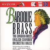 Basic 100 Vol 34 - Baroque Brass / Canadian Brass, et al
