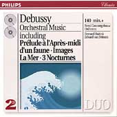 Debussy: Orchestral Music / Haitink, van Beinum
