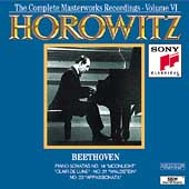 Horowitz Vol VI - Beethoven: Piano Sonatas 14, 21 & 23