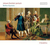 Johann Gottlieb Janitsch: Berlin Quartets for flute, oboe and basso continuo / Il Gardellino