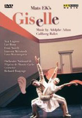 Adam: Giselle / Bonynge, Cullberg Ballet, Monte-Carlo National Opera Orchestra [DVD]