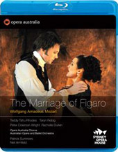Mozart: The Marriage of Figaro / Summers, Rhodes, Fiebig [Blu-Ray]