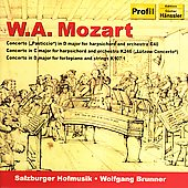 Mozart: Piano Concertos K 40, 107 no 1, 246 / Brunner, et al
