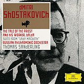Shostakovich: The Tale of the Priest and his Worker Balda, Lady Macbeth Suite / Sanderling, Russian Philharmonic