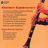 Clarinet Candescence - Weber, Stravinsky / Melvin Warner