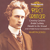 Grainger: Country Gardens & other piano favourites / Jones