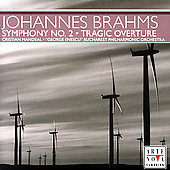 Brahms: Symphony no 2, etc / Mandeal, Bucharest PO