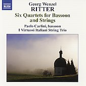 Ritter: Six Quartets for Bassoon and Strings / Carlini