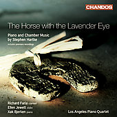 Hartke: Piano & Chamber Music - Horse with the Lavender Eye, etc