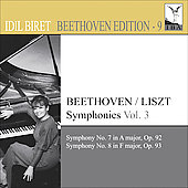Beethoven Edition Vol 9 - Symphonies Vol 3 / Idil Biret