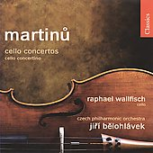 Classics - Martinu: Cello Concertos 1 & 2, etc / Wallfisch, Belohlavek