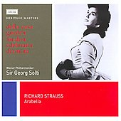 Heritage Masters - R. Strauss: Arabella / Solti, della Casa, London, et al