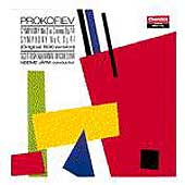 Prokofiev: Symphonies 3 & 4 / Järvi, Scottish National Orch