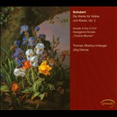Schubert: The Works For Violin & Piano, Vol. 2 / Irnberger, Demus