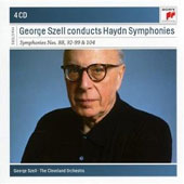 Szell Conducts Haydn Symphonies nos 88, 92-99 & 104 / Cleveland Orchestra