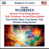 Charles Wuorinen: Chamber Music / Peter Serkin