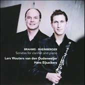 Brahms, Rheinberger: Clarinet Sonatas / Oudenweijer