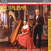 All' Italiana - Works for Flute and Harp / Wegner, Wegner