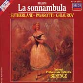 Bellini: La Sonnambula / Bonynge, Sutherland, Pavarotti