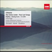 Richard Strauss: Four Last Songs; Daphne, closing scene; 12 lieder / Lucia Popp, soprano