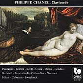 Paumann, Kotter, et al Harpsichord Music / Philippe Chanel