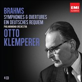 Brahms: Symphonies; Overtures; German Requiem / Otto Klemperer