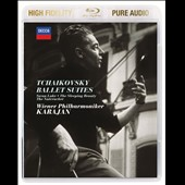 Tchaikovsky Ballet Suites: Nutracker, Swan Lake, Sleeping Beauty / Karajan, Vienna PO [Blu-ray audio]