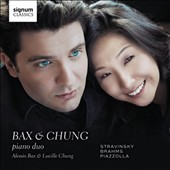 Bax & Chung Piano Duo play Stravinsky, Brahms, Piazzolla / Alessio Bax and Lucille Chung