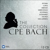 C.P.E. Bach: The Collection / Bylsma, Curtis, Ebbinge, Herreweghe, Koopman, Leonhardt, Tachezi, Van Asperen [13 CDs]
