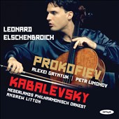 Kabalevsky: Cello Concerto No. 2; Prokofiev: Cello Sonata, Op.119 / Leonard Elschenbroich, cello; Netherlands PO; Litton