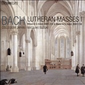 J.S. Bach: Lutheran Masses, Vol. 1 / Bach Collegium Japan; Masaaki Suzuki