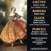 Gluck, Grétry, Purcell, Rameau / Fritz Mahler, Hartford SO