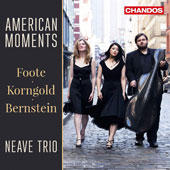 Works for Piano Trio by Bernstein, Korngold, and Foote -