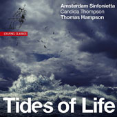 David Matthews (b.1943): Tides of Life, arrangements of works by Wolf, Schubert, Brahms, Barber / Candida Thompson, violin; Thomas Hampson, baritone; Wilma ten Wolde, Netherlands Female Youth Choir