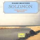 Piano Masters - Solomon - Scarlatti, Haydn, Beethoven