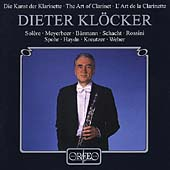 Dieter Klöcker - The Art of the Clarinet - Haydn, Weber, etc